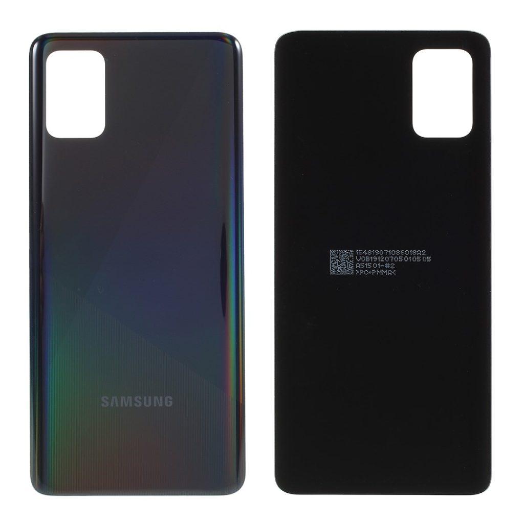 Samsung Galaxy A51 zadní kryt baterie černý A515