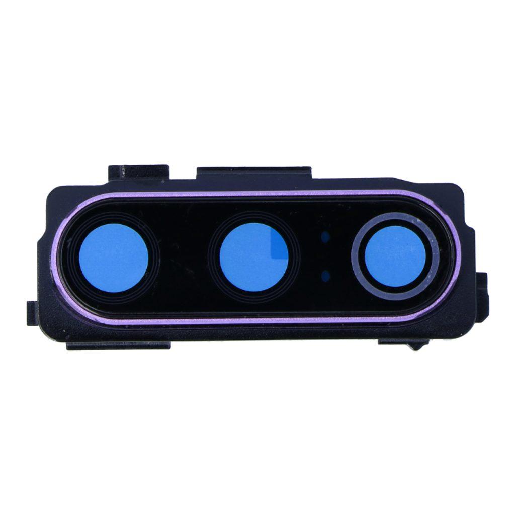 Xiaomi Mi 9 krytka čočky fotoaparátu fialová včetně rámečku sklíčka kamery