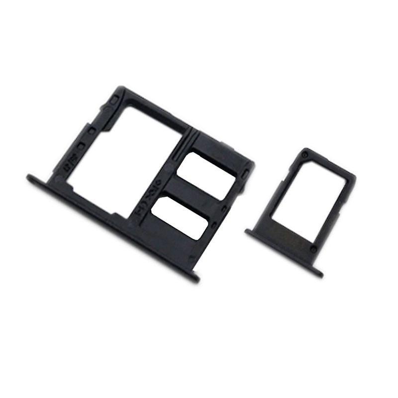 Samsung Galaxy A6 Plus 2018 šuplík na sim a SD kartu černý A605