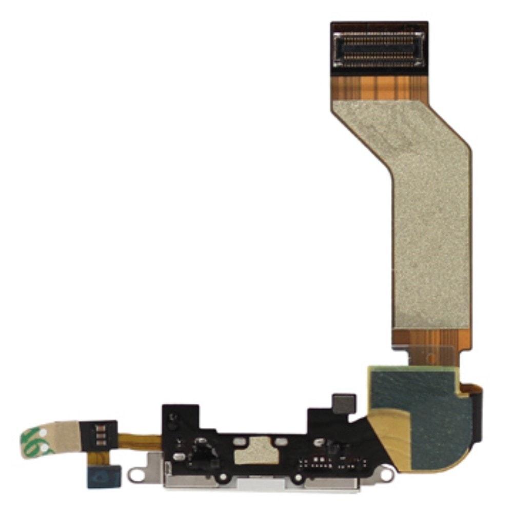 Apple iPhone 4S dock konektor nabíjení mikrofon bílý