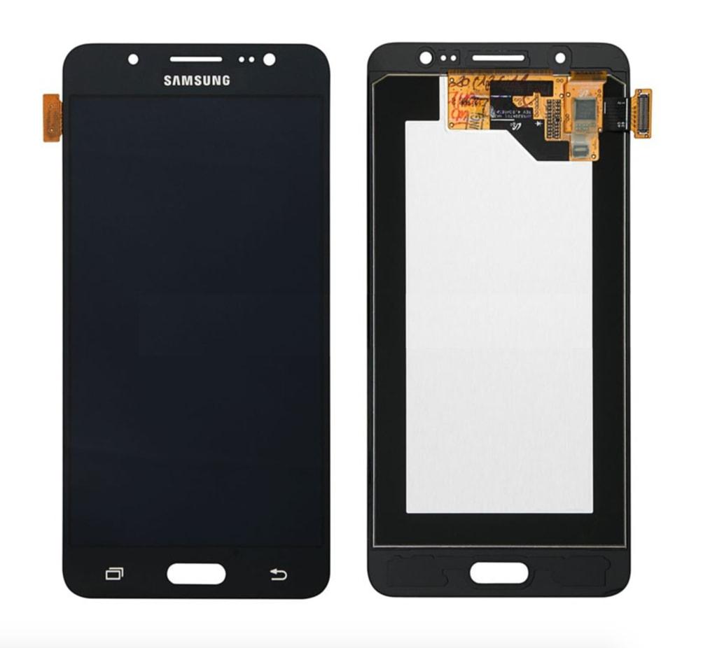 Samsung Galaxy J5 2016 LCD displej dotykové sklo černé J510F