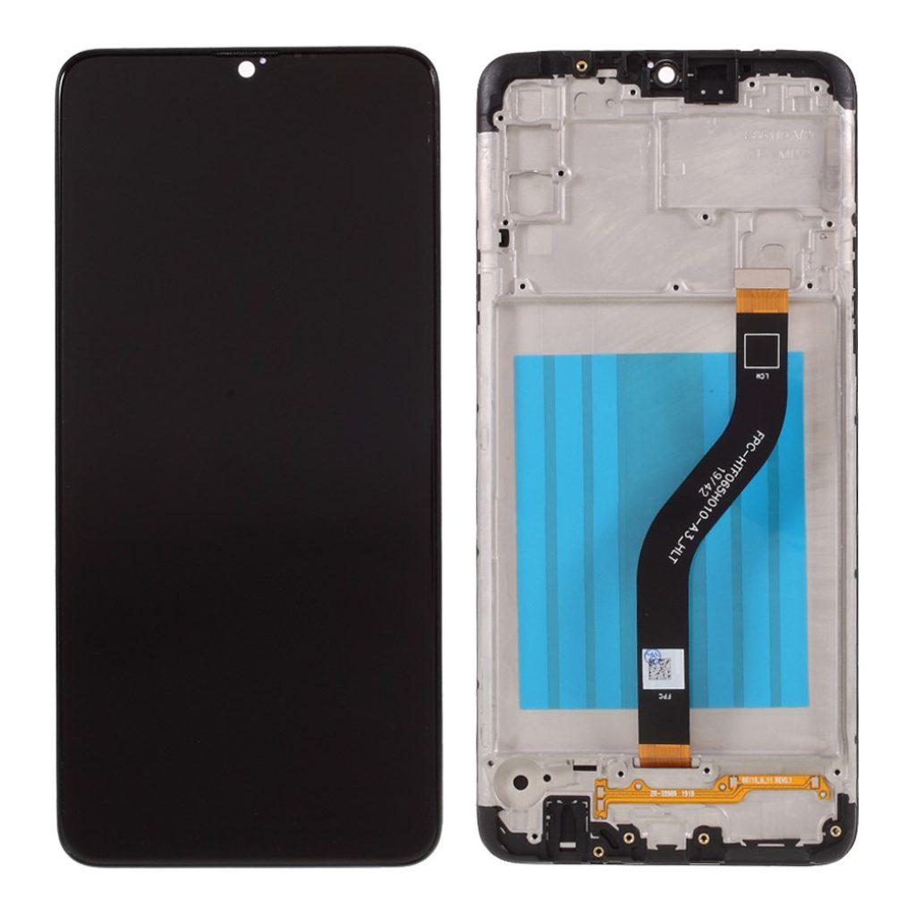 Samsung Galaxy A20S LCD displej dotykové sklo včetně rámečku A207F