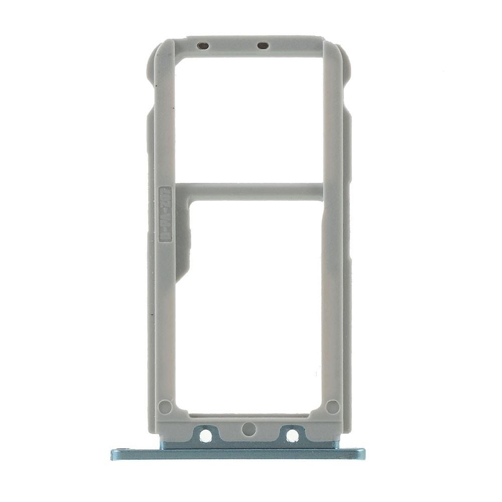 Huawei Nova 3 šuplík na  SIM SD kartu světle modrý