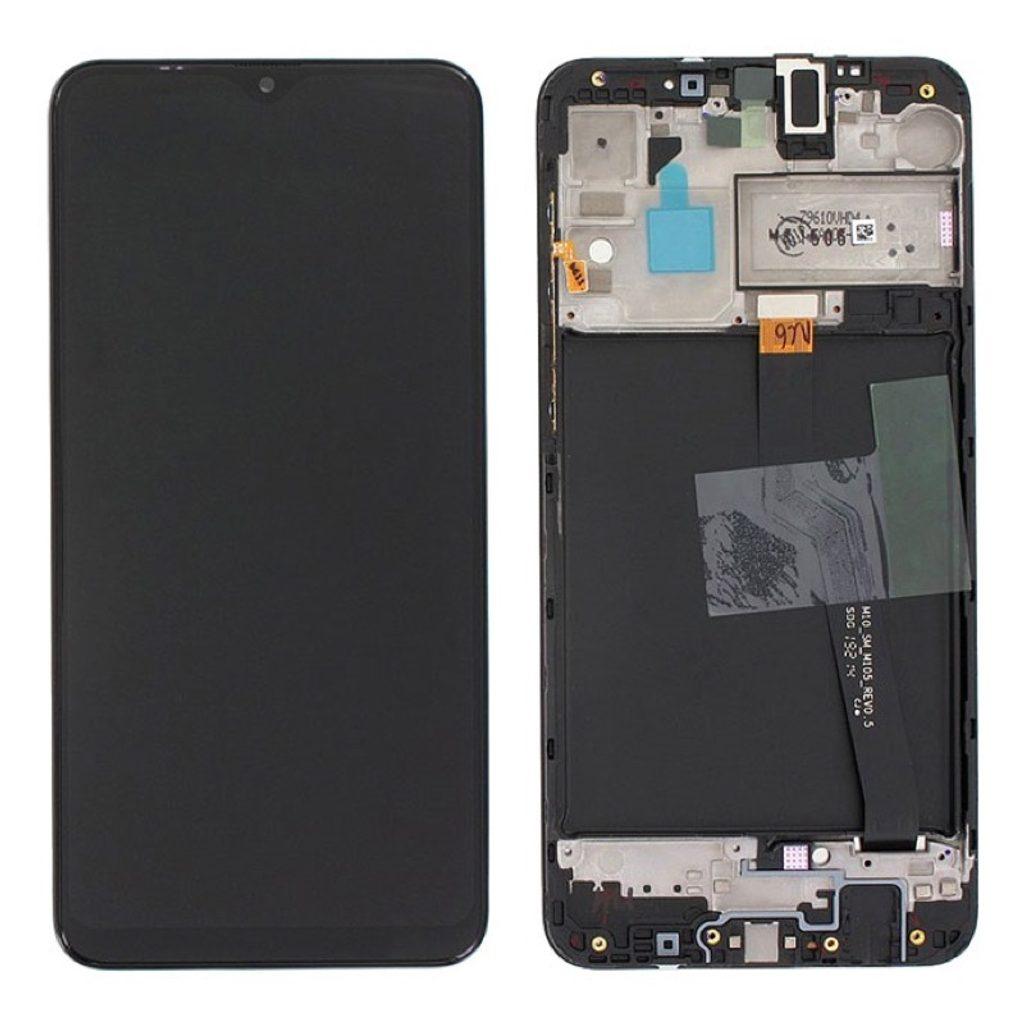 Samsung Galaxy A10 LCD displej dotykové sklo komplet A105 (Service Pack)