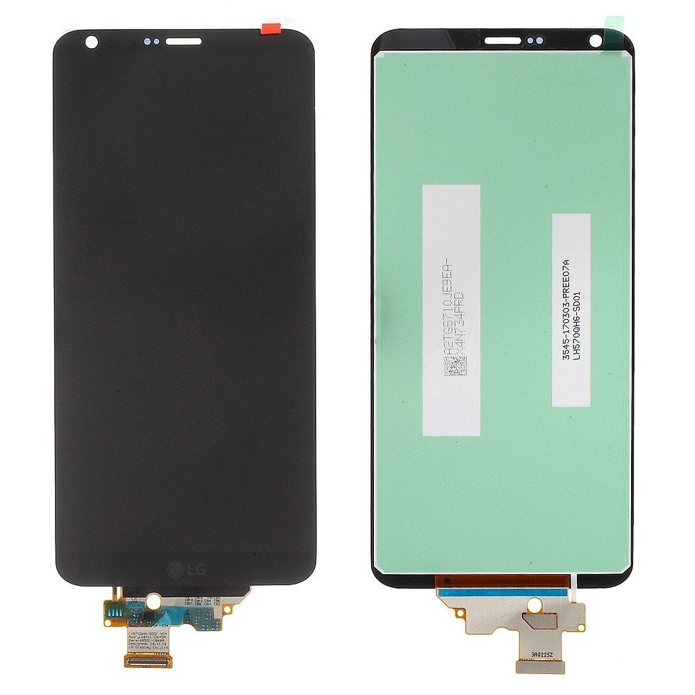 LG G6 LCD displej dotykové sklo komplet černý H870