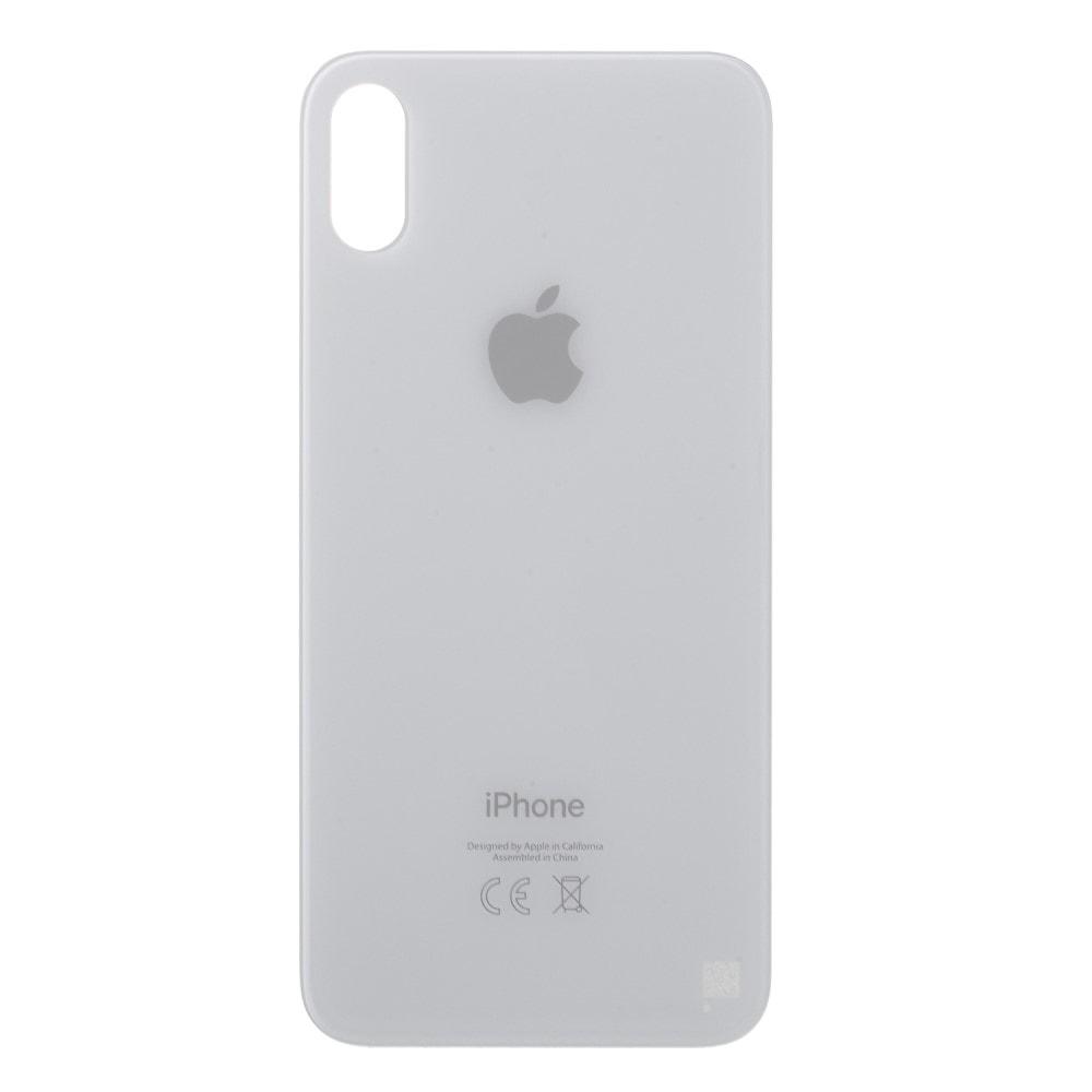 Apple iPhone X zadní skleněný kryt baterie bílý CE