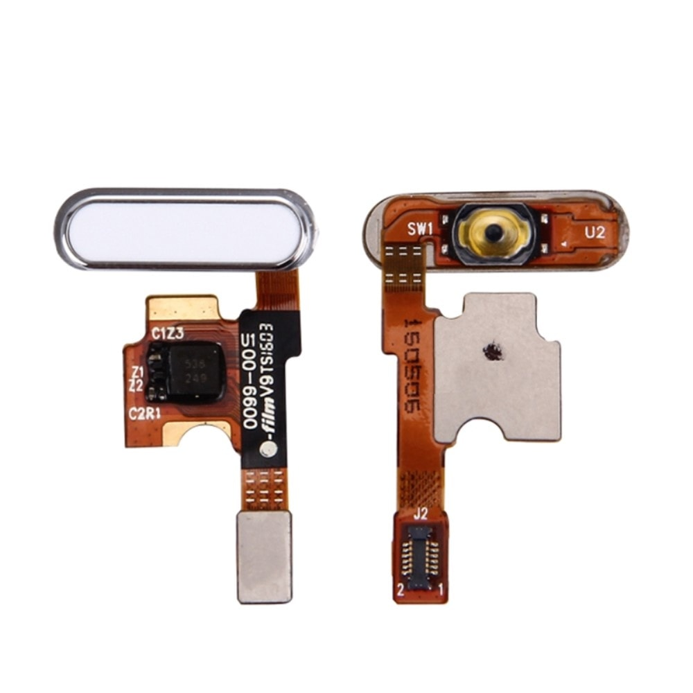 Xiaomi Mi5 Home button flex domovské tlačítko bílé