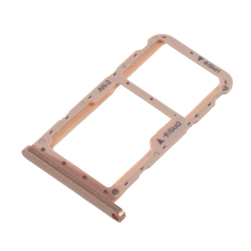 Huawei P20 Lite šuplík na SIM SD kartu slot růžový rose gold