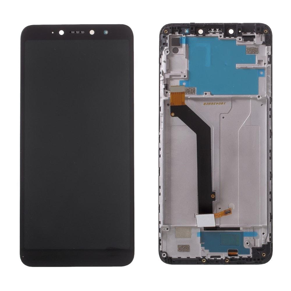 Xiaomi Redmi S2 LCD displej dotykové sklo komplet přední panel včetně rámečku černý
