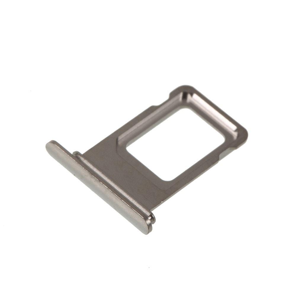 Apple iPhone XS MAX šuplík single SIM stříbrný