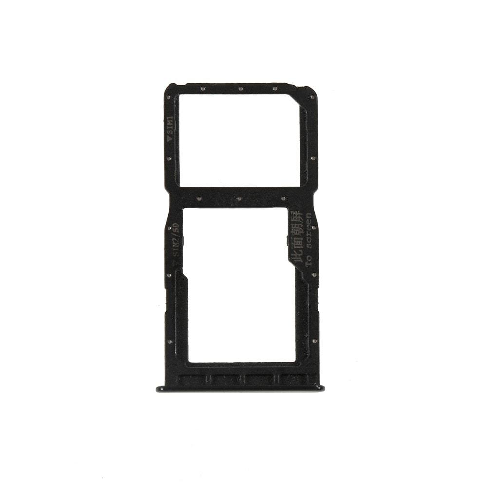Huawei P30 Lite šuplík na SIM SD kartu černý