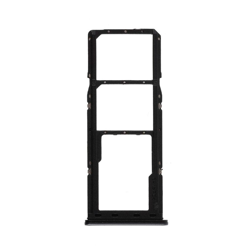 Samsung Galaxy A70 šuplík na SIM a SD kartu černý A705
