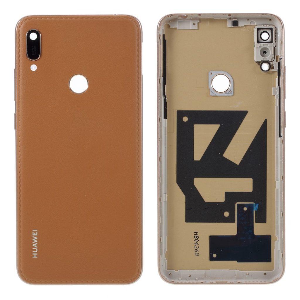 Huawei Y6 2019 zadní kryt baterie hnědý