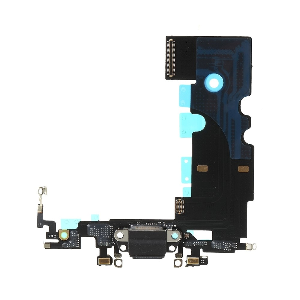 Apple iPhone 8 dock konektor nabíjení napájecí flex lightning port sluchátka černý