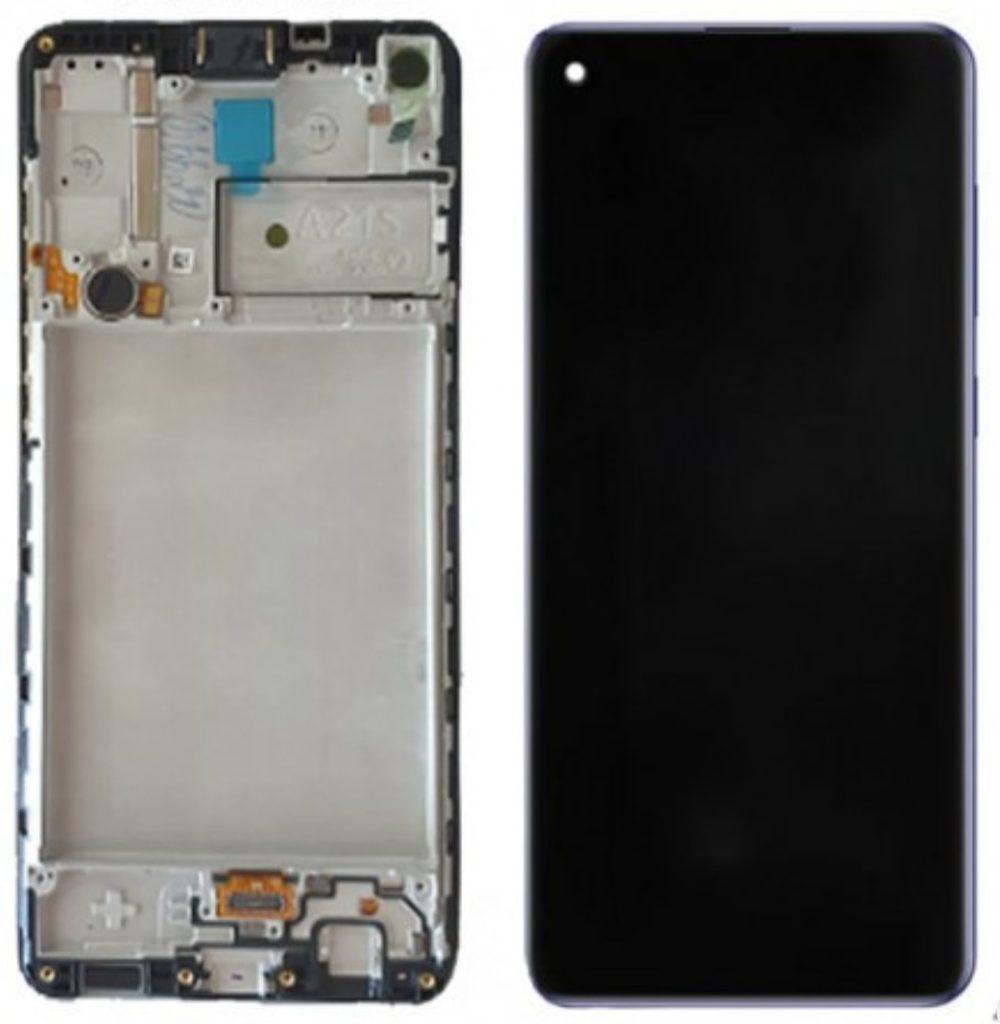 Samsung Galaxy A21s LCD displej dotykové sklo včetně rámečku A217F