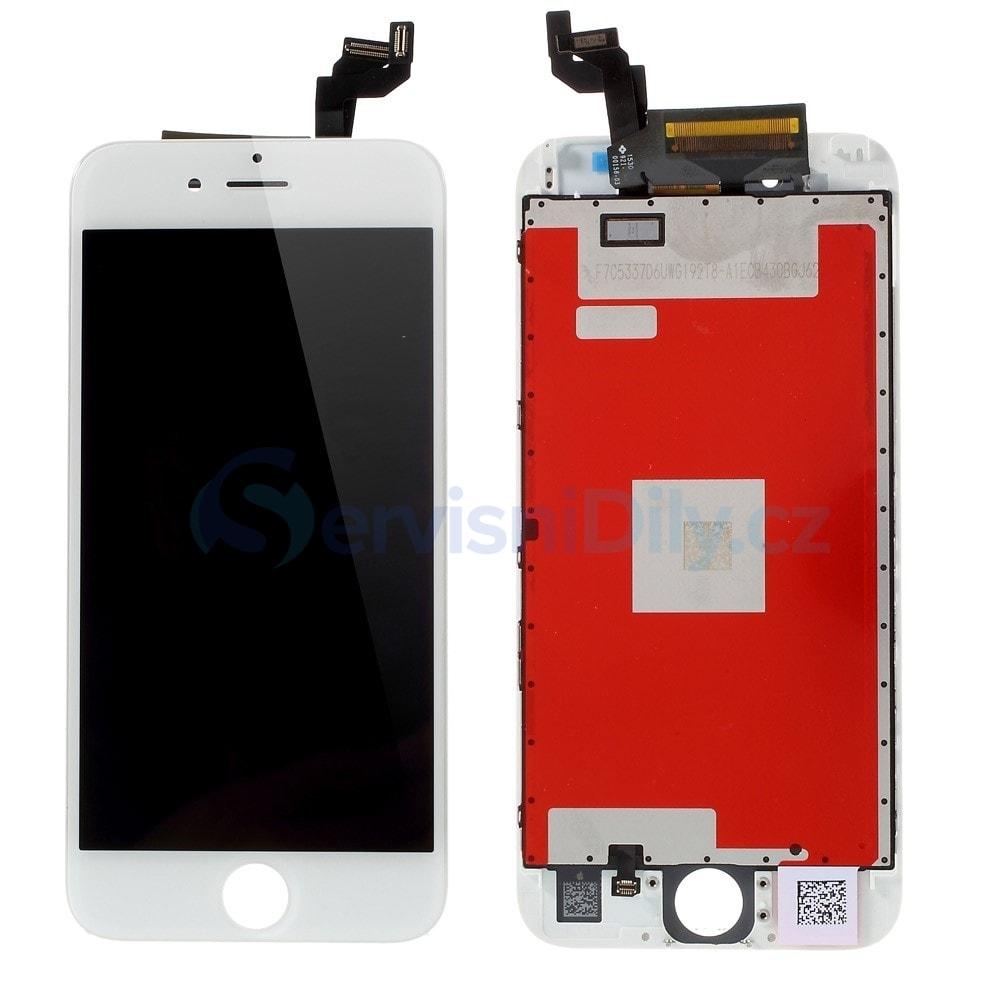 ea34095db Apple iPhone 6S LCD displej bílý dotykové sklo komplet - Váš ...