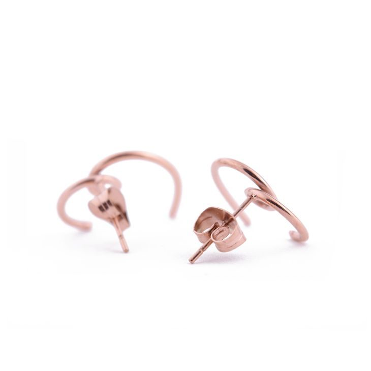 Heartshape Rose Gold