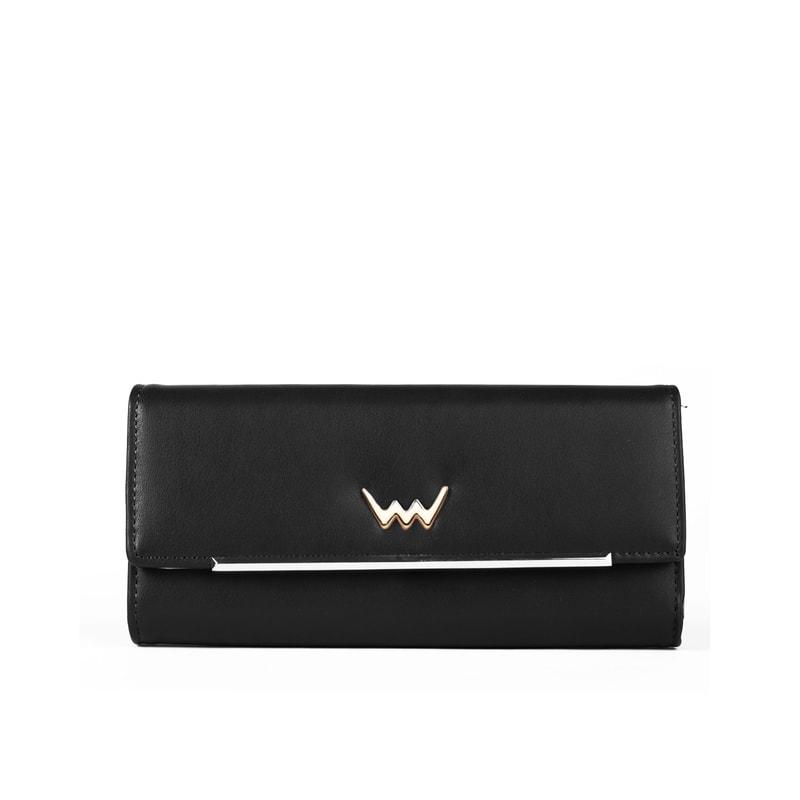 f675e6ef07 Dámska čierna peňaženka zo syntetickej kože TRUSTEN - Vuch