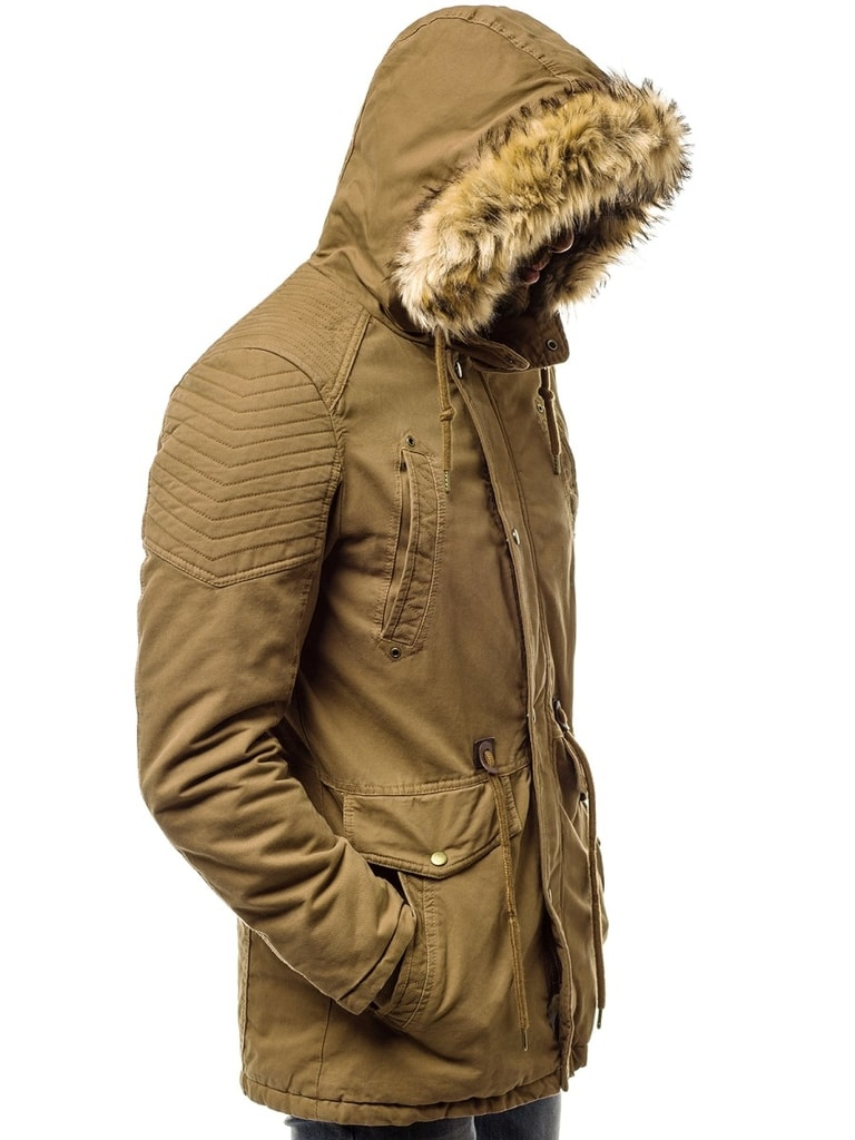 Fantasztikus barna dzseki OZONEE JS5810 Legyferfi.hu