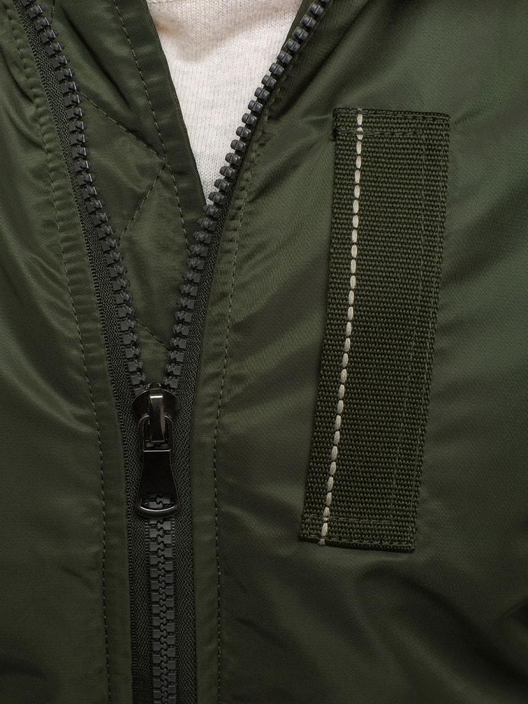 Katona zöld férfi téli dzseki J.STYLE 3170 Legyferfi.hu