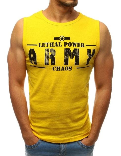 801d6c4989 Szenzációs sárga atléta ARMY - Legyferfi.hu