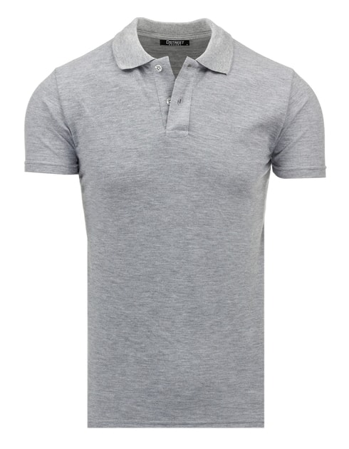 445ddbbefe Klasszikus szürke férfi póló ing - Legyferfi.hu