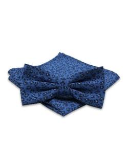 0a4c088856 Raktáron Kék virág mintás csokornyakkendő Kék virág mintás csokornyakkendő