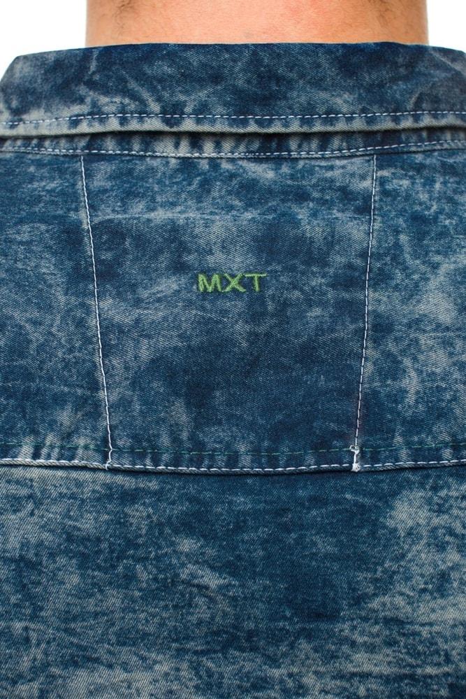 023a24bff3 Extravagány kék farmer ing Madmext 493 - Legyferfi.hu