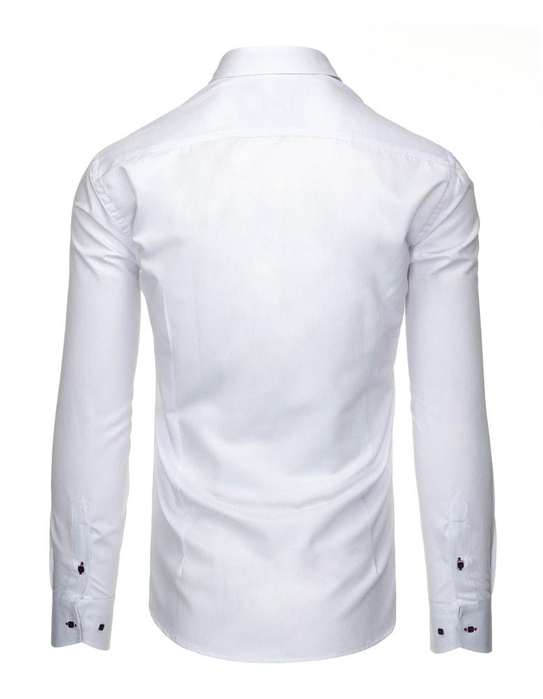 03c83a6735 Fehér elegáns ing piros szegéllyel - Legyferfi.hu