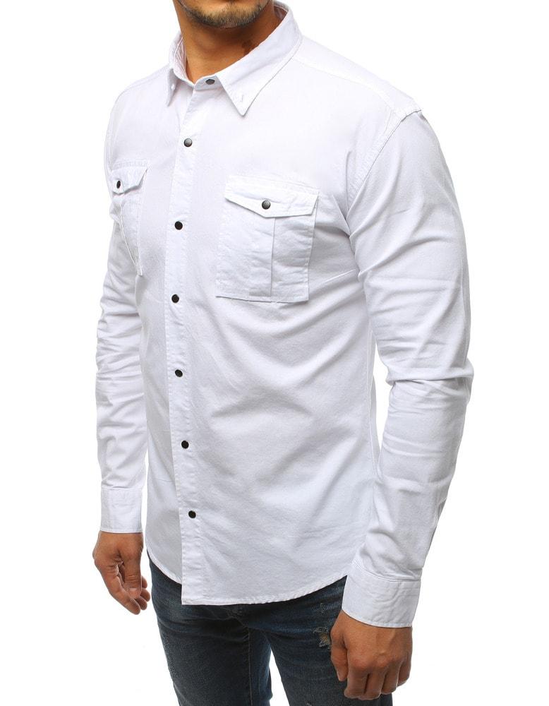 04ca00067a Egyedi fehér szűkített ing SLIM FIT - Legyferfi.hu