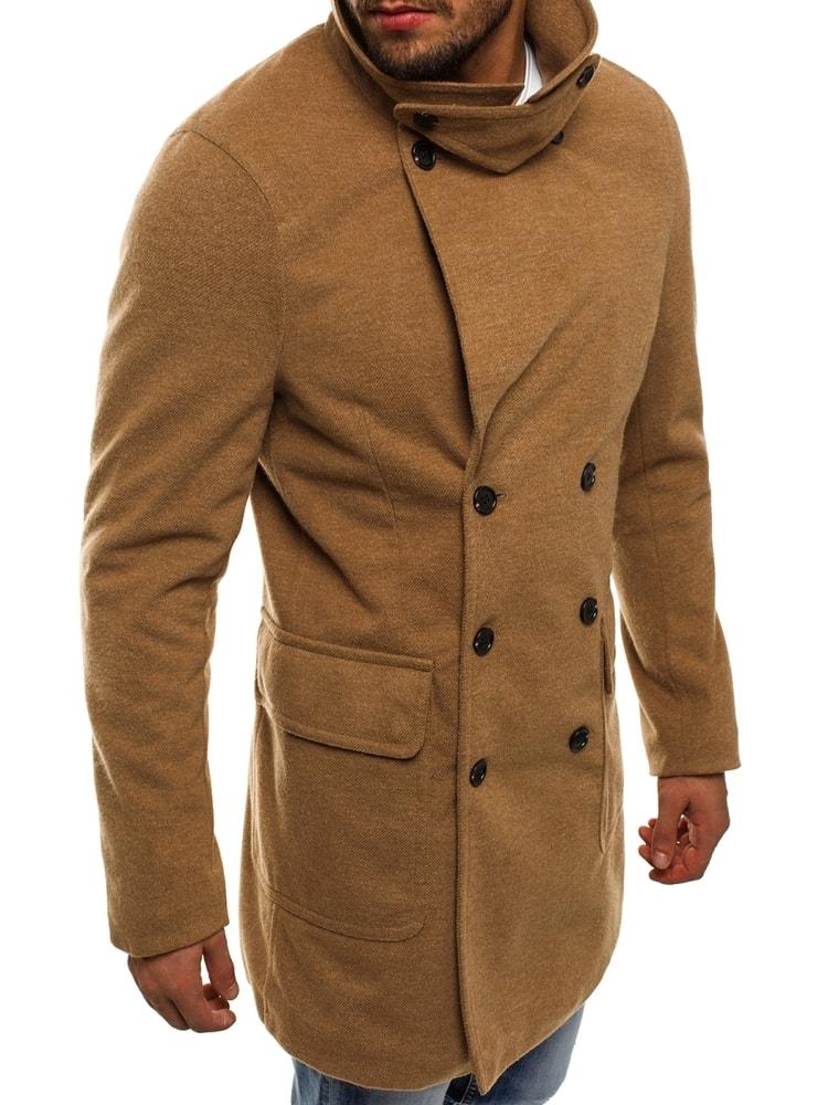 f04dce3a8e Bézs színű kabát - Legyferfi.hu
