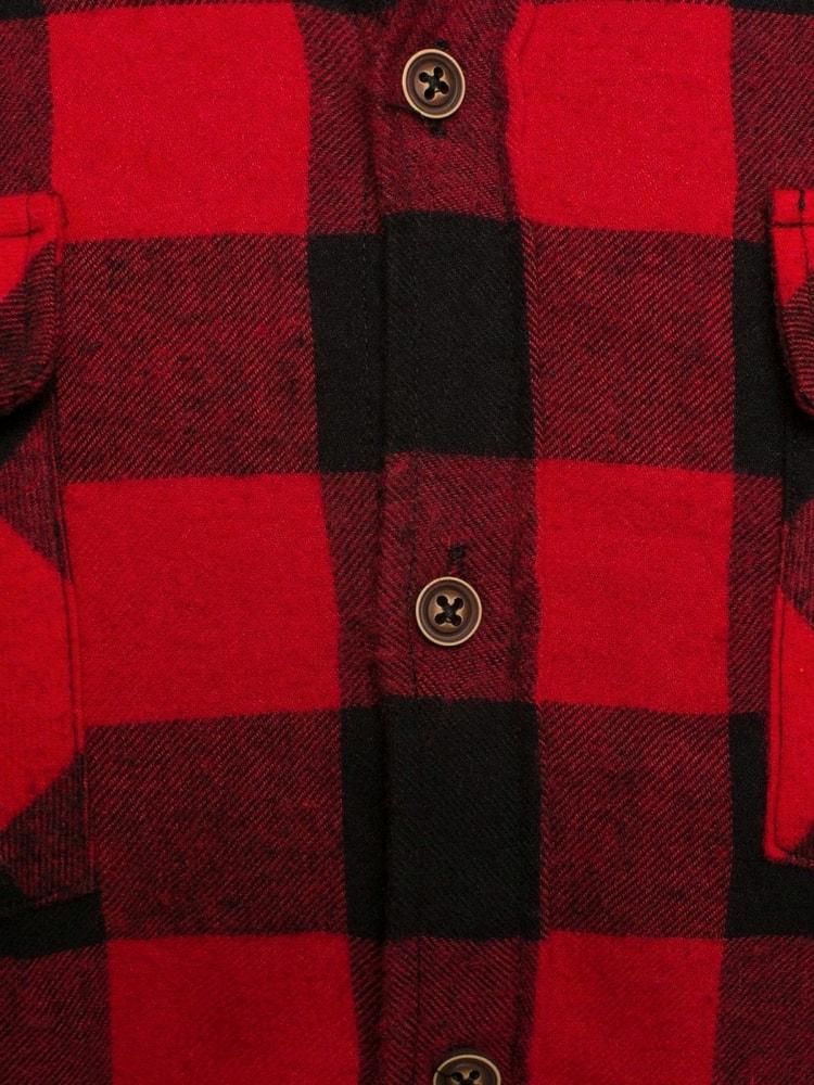 08443ad020 Piros-fekete kockás ing MADMEXT 1770 - Legyferfi.hu