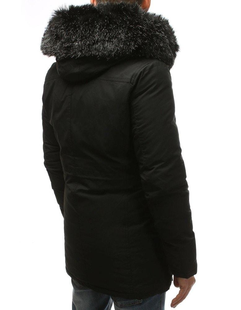658c2eb79d Téli parka kabát fekete színben - Legyferfi.hu