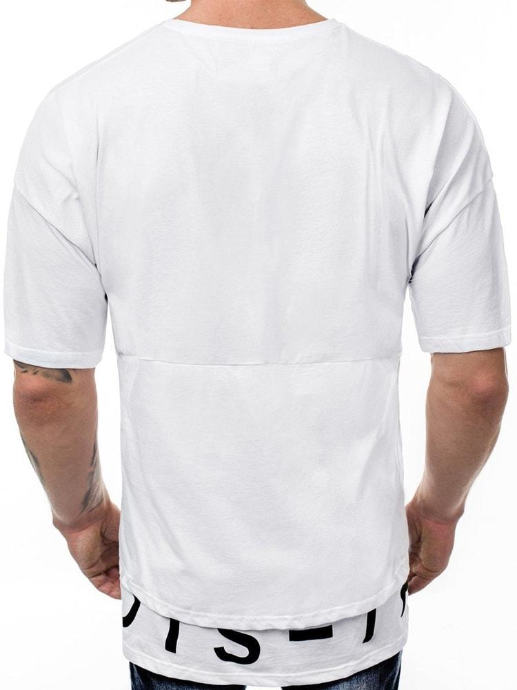 d52fa1a9ad Divatos fehér póló OZONEE B/8151 - Legyferfi.hu