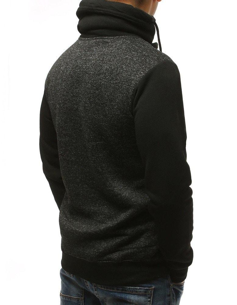 8c86593cc9 Eredeti fekete magas nyakú pulóver - Legyferfi.hu