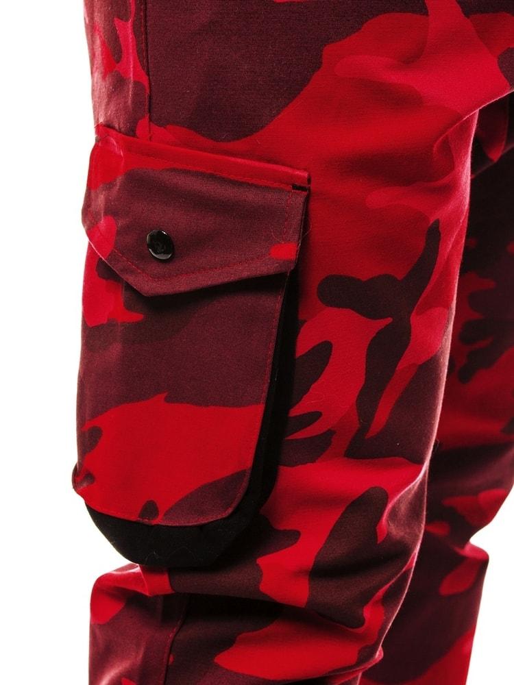 5fa133bac3 Zsebes jogger nadrág piros terepmintás ATHLETIC 705 - Legyferfi.hu