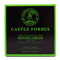 Castle Forbes borotvakrém - Lime (200 ml)