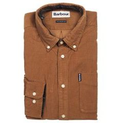 Barbour Cord kordbársony ing - Sandstone (button-down)