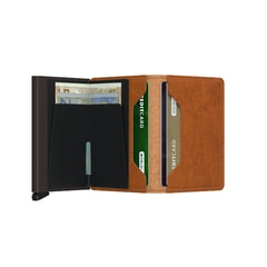 Secrid Slimwallet Original - Cognac & Brown
