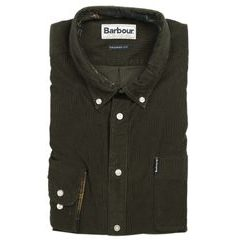 Barbour Cord kordbársony ing - Forest (button-down)