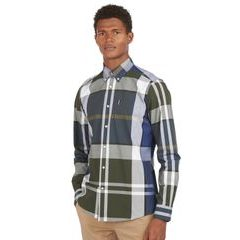 Barbour Tartan 12 Tartan ing - Sage (button-down)