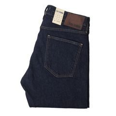 C.O.F Studio M7 Tapered farmernadrág - Indigo Selvedge (Rinsed)