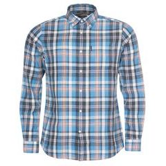 Barbour Madras Kockás ing - kék (button-down)