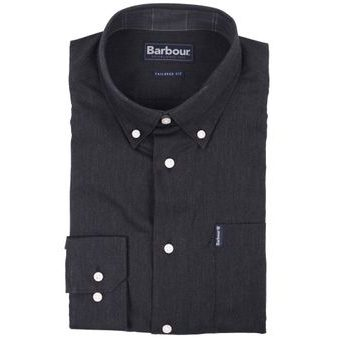 Barbour Lambton antracitszürke ing (button-down)