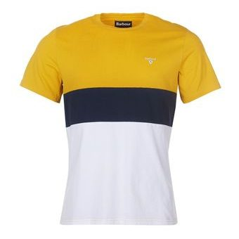 Barbour Castle Panel Tee trikó- arany