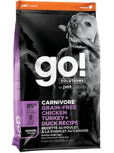 GO! Carnivore GrainFree Senior Dog Food 10 kg
