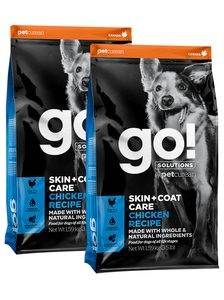 GO! Skin&Coat Care Chicken 2 x 11,4 kg