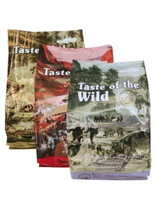 Taste of the Wild Southwest Canyon + Sierra Mountain + Pine Forest 3 x 2 kg