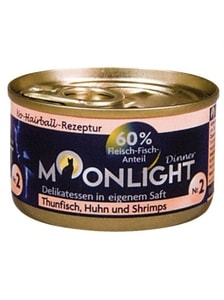 Moonlight Dinner č. 2 - 80 g tuňák, kuře a krevety
