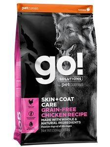 GO! Skin&Coat Chicken Grain Free 11,4kg